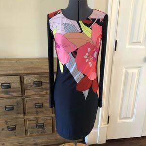 Trina TURK Shift Floral Dress   Sz 4